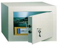 T02472 PT-1 nábytkový sejf šedý/ 33x45x38cm