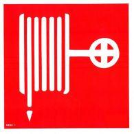 NE23 1 S Požiarny hydrant s hadicou ( piktogram ) 21 x 21 cm