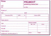 044 Prijmový pokladničný doklad A6-samoprepis