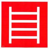 NE22 1 S Požiarny rebrík ( piktogram ) 21 x 21 cm