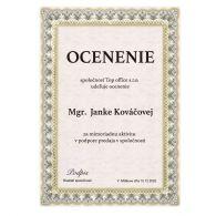 Certifikát 5 180g papier A4/ 20 ks