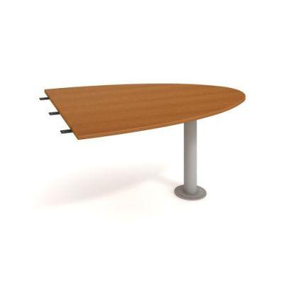 CP 1500 2 Stôl rokovací dĺžky 150×75.5×80 cm  ukončený elipsou CROSS